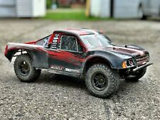 Team Redcat TR-SC10E 1/10 Brushless Short Course RC Truck with upgrades