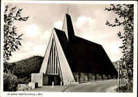 """Kirchen Motiv-AK Kirche St. Benno BAD LAUTERBERG ca. 1950/60 """"Orgel-Spende"""" AK"""
