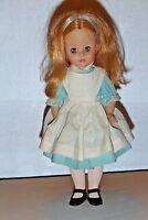 VTG Madame Alexander Alice In Wonderland Doll Walt Disney