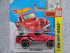 Hot Wheels Treasure Hunt Jeep Diecast Rally Cars