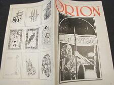 ORION RIVISTA periodico n 11 1988 50 maurizio murelli solstizio d'inverno europa