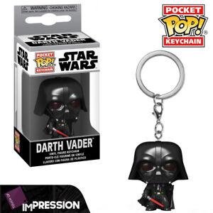 Darth Vader Star Wars Keychain Official Funko Pocket Pop Keyring