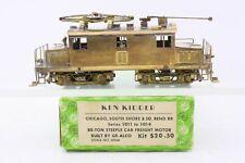 Ken Kidder Brass HO Scale CSS & SB 85 Ton Steeple Cab Electric Locomotive