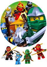 Esspapier Tortenaufleger Tortenbild Geburtstag Lego Ninjago T25  ( 30 )