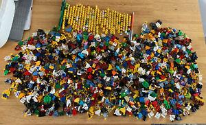 Lego Series Male Heads, Torsos & Legs HUGE BUNDLE GENUINE GREAT !!! RARE !!!