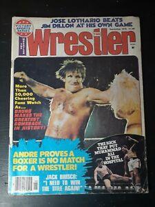 The Wrestler Magazine September 1976