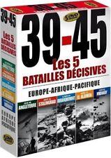 39-45, les 5 batailles décisives : Europe, Afrique, Pacifique - Coffret 5 DVD