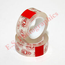 2 x 16mm Rolls of The Best Professional Cine Film Splicing Tape by Jacro