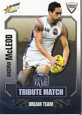 2008 Select AFL Classic HOF Tribute Match Card TM44 Andrew McLeod (Adelaide)