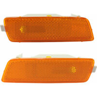 For 2005-2010 Volkswagen Jetta Pair Turn Signal/Side Marker Light Lens & Housing