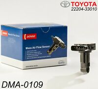 Original TOYOTA 22204-33010 Mass Air Flow MAF Sensor D-4D 1.4 2.5 DENSO DMA-0109