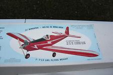 "RC Balsa Kit - SIG Astro Hog Kit  - Wing 71"""