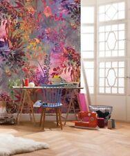 Wall mural wallpaper 254x184cm Large photo decor Purple nature Wild Garden
