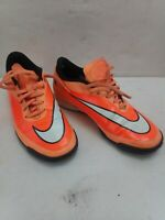 Nike Hypervenom Training Shoes Orange Size 7.