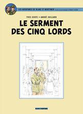 A. Juillard & Y. Sente – Blake et Mortimer Le serment des cinq lords E.P. Jacobs