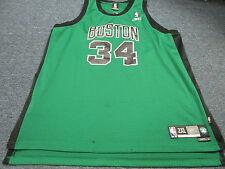 556271828 VINTAGE REEBOK NBA BOSTON CELTICS PAUL PIERCE GREEN SWINGMAN JERSEY SIZE 2XL