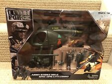 BBI Elite Force 1:18 U.S Army Strike MH-6 Littlebird Helicopter Set, No. 004334