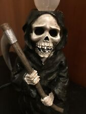 Halloween Lighted Candle, Grim Reaper