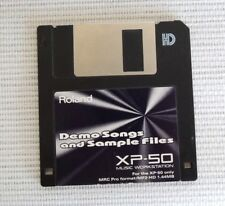 Roland XP80 XP 60 Floppy Disk Factory midifiles RESET sounds DEMOS 600 Sounds