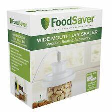 NEW FoodSaver Wide Mouth Jar Sealer
