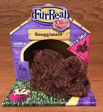 Hasbro Fur Real Friends Snuggimals Brown Puppy 2010 tiger