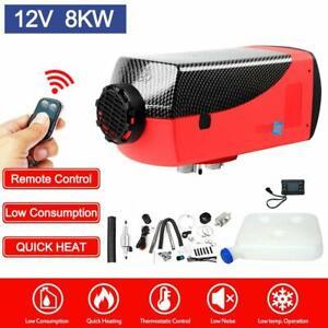 12V 2KW-8KW Diesel Air Heater Tank Remote Control Thermostat Caravan RV Pickup