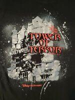 MGM Studios The Twilight Zone Tower of Terror Ride T Shirt Walt Disney World M