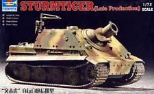 Trumpeter - Sturmtiger late spät Production 1:72 Modell-Bausatz NEU OVP Tipp kit