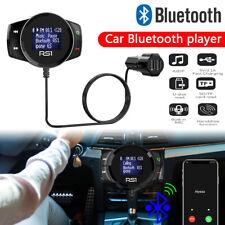 Wireless Bluetooth USB Car Kit LCD SD FM Transmitter Mp3 Player Magnet Handsfree