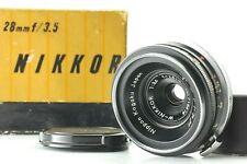 【MINT in BOX】 Nippon Kogaku W-Nikkor 2.8cm F/3.5 28mm for Nikon S2 SP S3  Japan