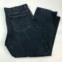 Van Heusen Denim Jeans Mens 40X30 Blue Straight Leg 100% Cotton Medium Washed