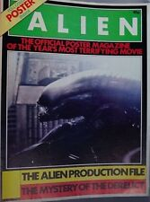 Alien 1979 UK poster cinema magazine Ridley Scott Sigourney Weaver John Hurt