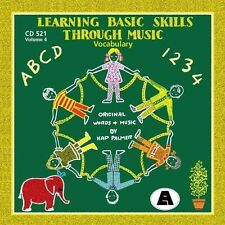 Hap Palmer - Learning Basic Skills Through Music-Vocabulary [New CD]