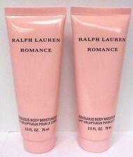 2x Ralph Lauren ROMANCE Body Moisturizer Women 2.5oz / 75ml Each NEW