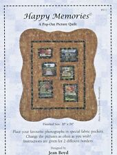 Happy Memories ~ Pop-Out Picture Quilt Pattern by Jean Boyd 311