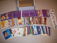1992 GARFIELD & 2004 GARFIELD THE MOVIE COMPLETE SETS WITH BOTH INSERT SETS