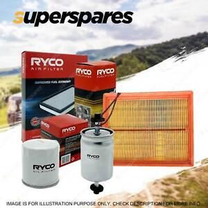 Ryco Oil Air Fuel Filter Service Kit for Toyota 4 Runner VZN130 10/1990-1996