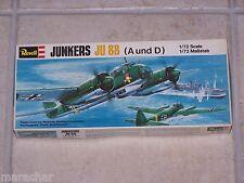 Maquette REVELL 1/72ème JUNKERS JU 88 A/D H-113/1981