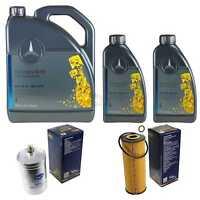 Inspektionspaket 7L Mercedes Öl 229.5 5W40+ SCT Filterpaket 11108960