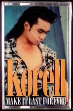 Korell – Make It Last Forever LP CASSETTE FREESTYLE THUMP 1994 SEALED OOP