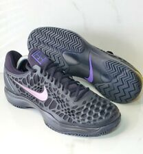 Nike Air Zoom Cage 3 Clay BLACK 918193-011 Tennis / Racquet Men's Shoes Sz 10.5