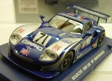 FLY A2001 MARCOS 600LM 10TH ANNIVERSARY SERIAL # NEW 1/32 SLOT CAR IN DISPLAY