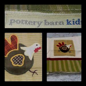 🦃Pottery Barn Kids Thanksgiving Table Runner 16x61