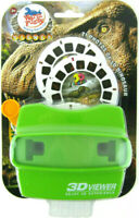 DINOSAUR 3D Viewer 21 Photo Images T-Rex Skeleton Focusing Viewmaster Viewer Set