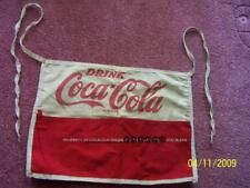VINTAGE Coca Cola DRINK 1950 ' S CHANGE Coin Bill APRON Coke Bottle Reg. US Pat.
