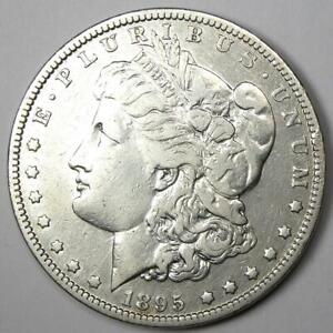 1895-O Morgan Silver Dollar $1 - Choice VF Details - Rare Date Coin!