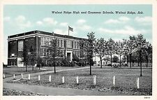 Arkansas AR Postcard c1940 WALNUT RIDGE High Grammar Schools Buildings
