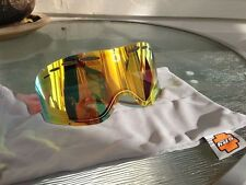 NEW Spy Comet snow goggle replacement lens: Persimmon with Orange Spectra Mirror