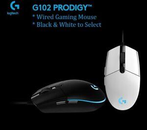 Logitech Gen2 NEW G102 G203 Lightsync Prodigy Gaming Mouse RGB Program 8000 DPI