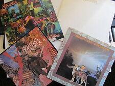 4* LPs Santana, Antana, Abbraxas, Welcome, Beyond Appearances & Night & Daydream